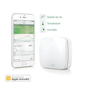 Eve capteur d'intérieur sans fil avec technologie HomeKit