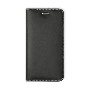 Etui folio Wallet cuir pour iPhone 6 Noir