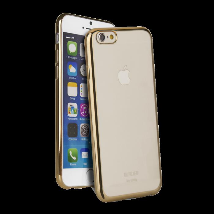 Uniq Coque Glacier Glitz pour iPhone 6/6S Or