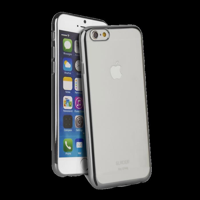 Uniq Coque Glacier Glitz pour iPhone 6+/6S+ Gris foncé