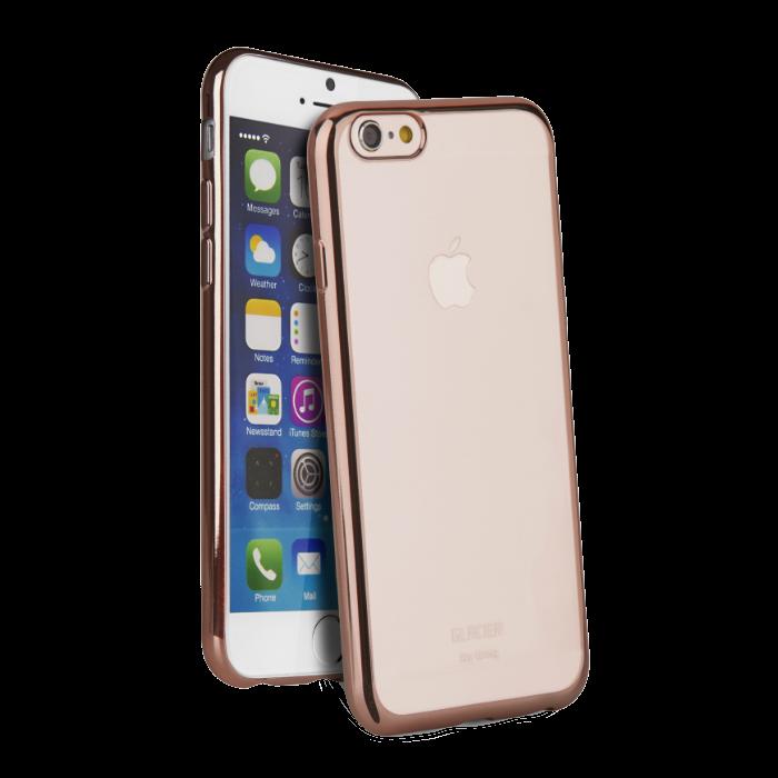 Uniq Coque Glacier Glitz pour iPhone 6+/6S+ Rose Gold