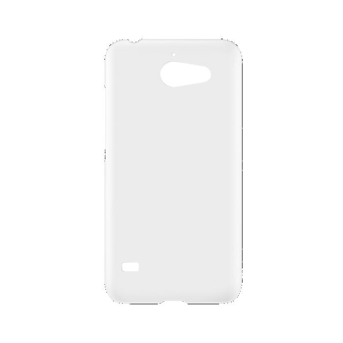 Huawei Coque pour Y550 Blanc/Transparent