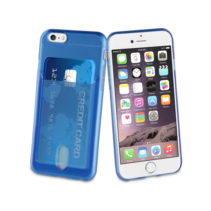 Muvit Life Coque PassPass pour Iphone 6/6S Bleu
