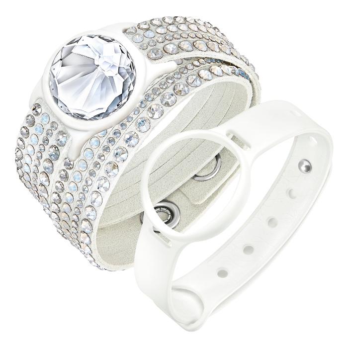 Swarovski Bijou bracelet d'activité Slake Activity Crystal Blanc