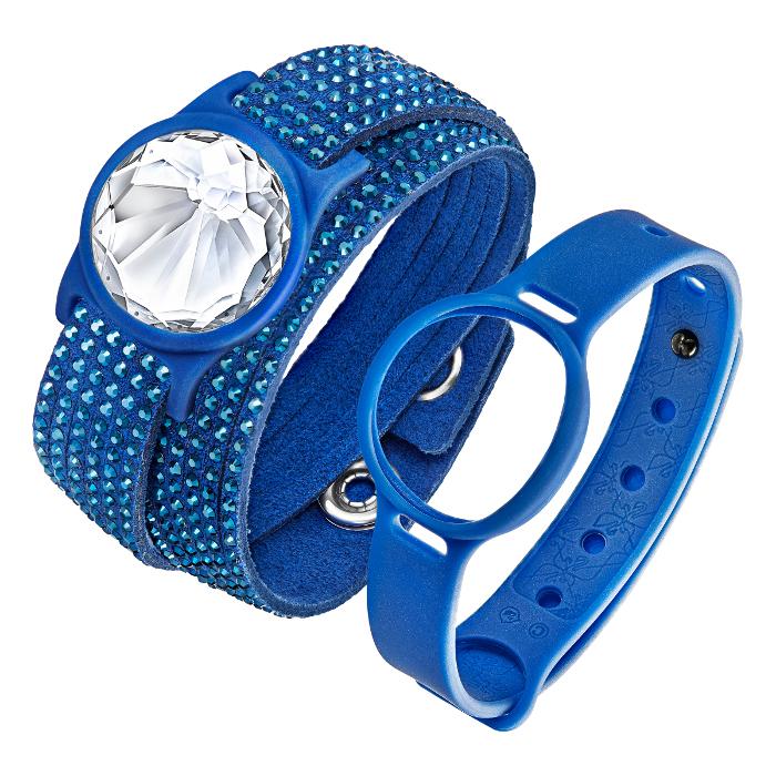 Swarovski Bijou bracelet d'activité Slake Activity Crystal Bleu