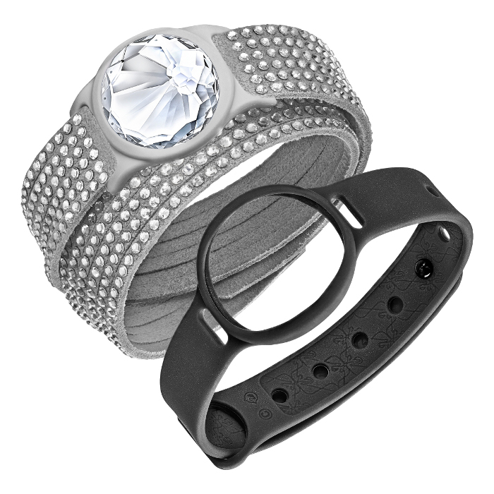 Swarovski Bijou bracelet d'activité Slake Activity Crystal Gris