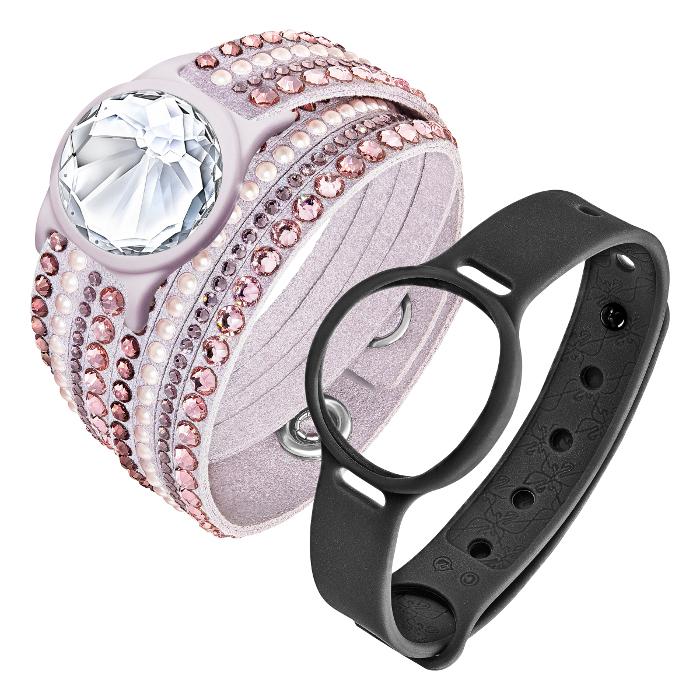 Swarovski Bijou bracelet d'activité Slake Activity Crystal Rose
