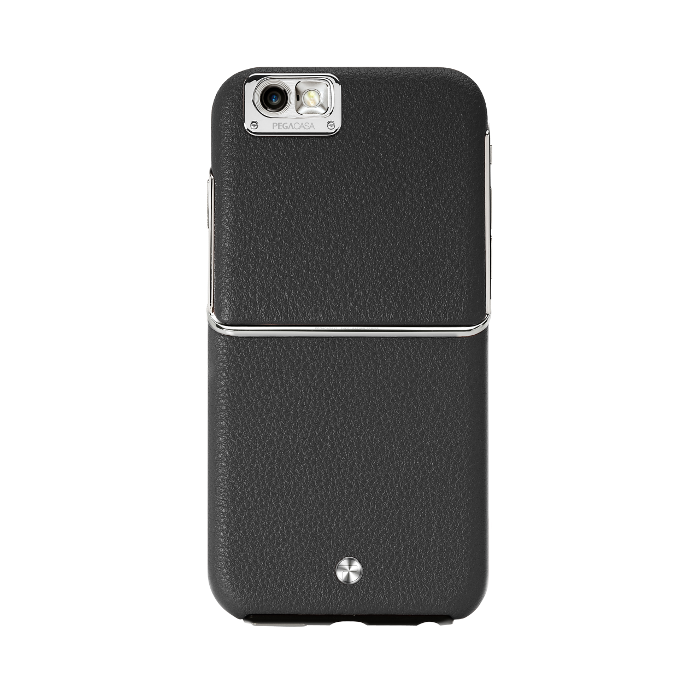 Pegacasa Coque Cuir Maestro pour Iphone 6/6S Noir
