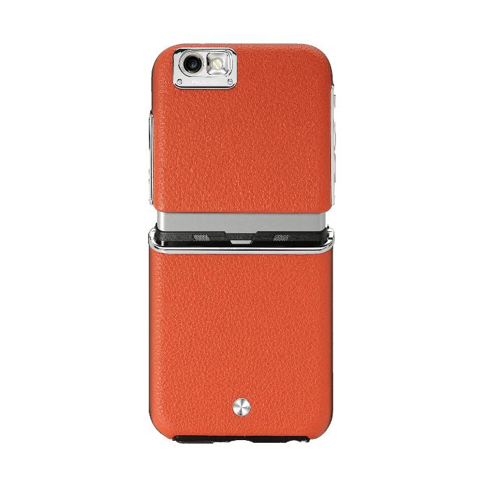 Pegacasa Coque Cuir Maestro pour Iphone 6/6S Orange