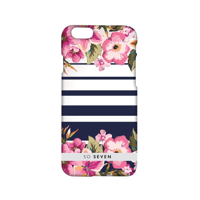 So Seven Coque romantic flower pour Iphone 6/6S Rose