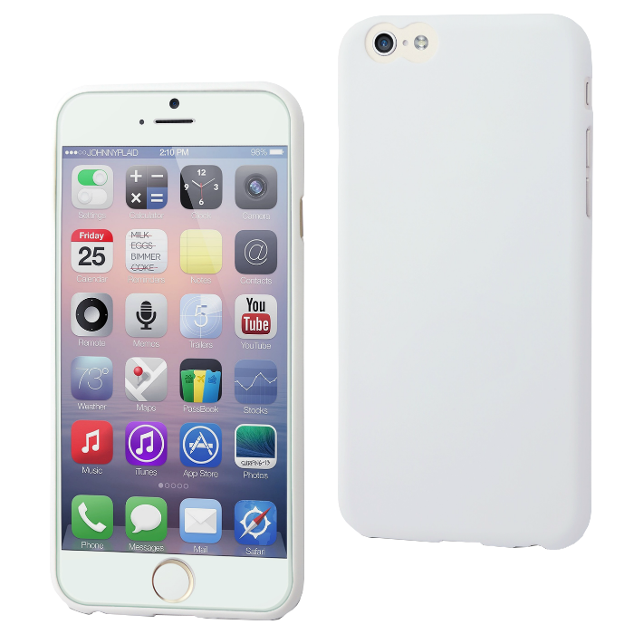 Muvit Coque Thingel pour iPhone 6/6S Blanc