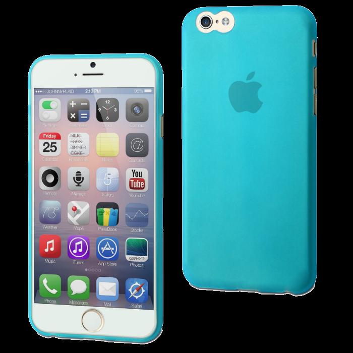 Muvit Coque Thingel pour iPhone 6/6S Bleu