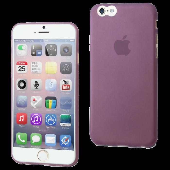 Muvit Coque Thingel pour iPhone 6/6S Mauve