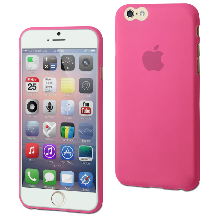 Muvit Coque Thingel pour iPhone 6/6S Rose