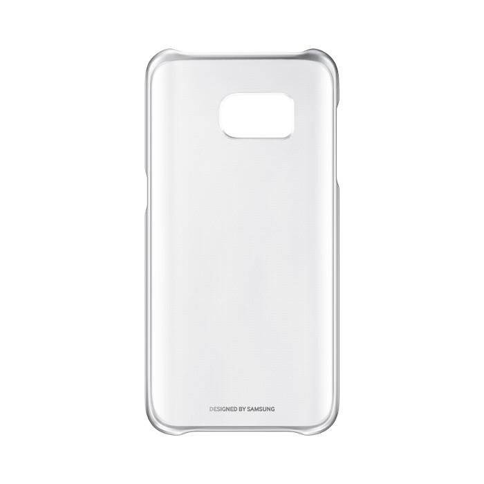 Samsung Coque transparente pour Galaxy S7 Argent