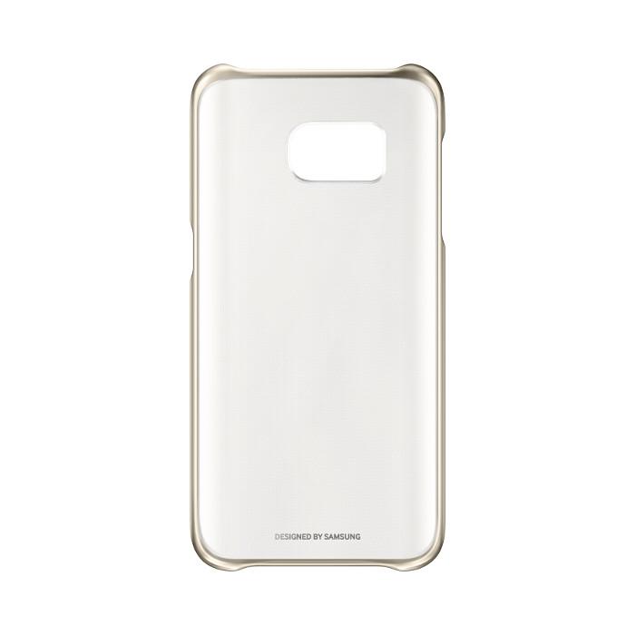 Samsung Coque transparente pour Galaxy S7 Or