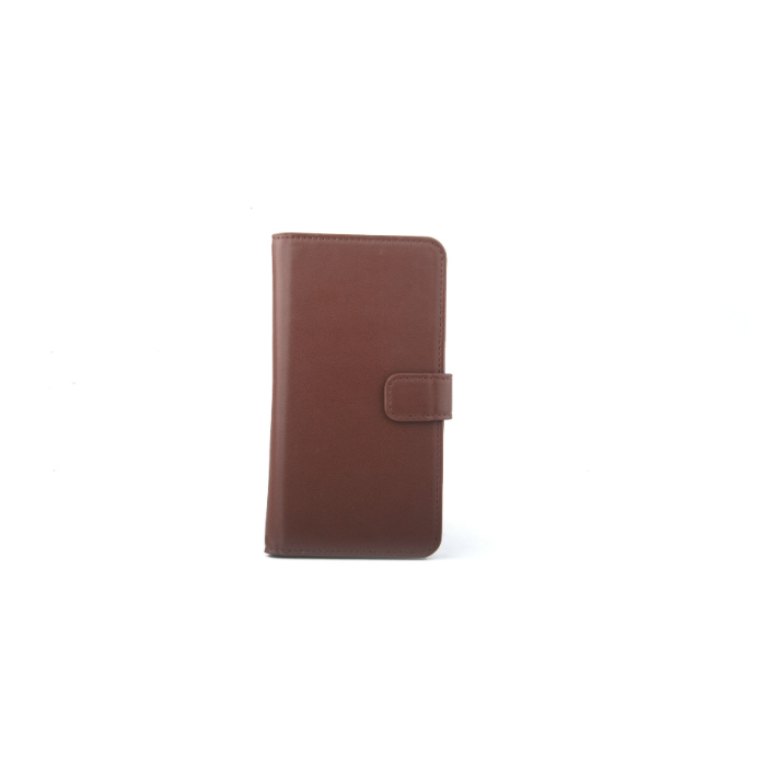 Slide cover Folio universel porte carte Marron XL