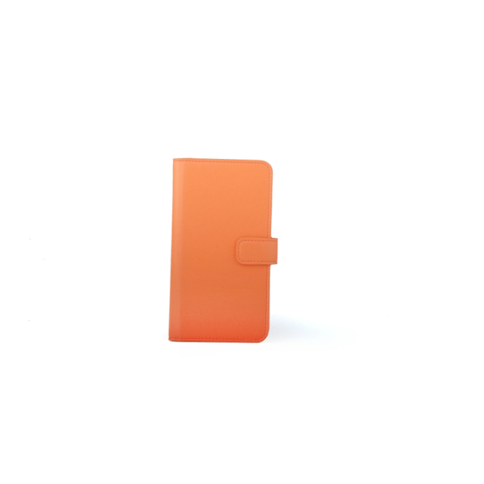 Slide cover Folio universel porte carte Orange XL