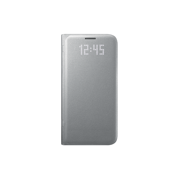 Samsung Etui folio Led View Cover Galaxy S7 Edge Argent