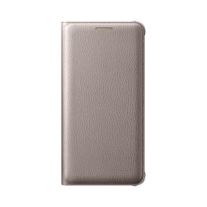 Samsung Etui flip wallet pour Galaxy A310F 2016 Or