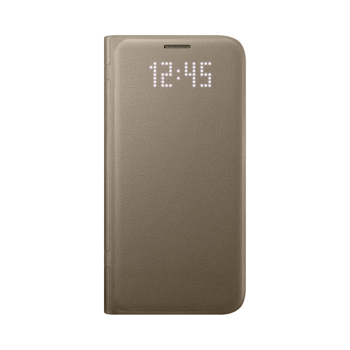 Samsung Etui folio Led View Cover Galaxy S7 Or