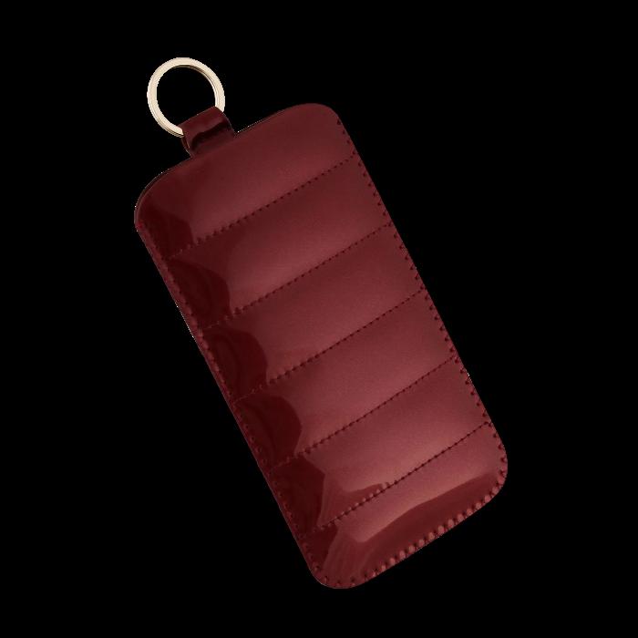 Lick Etui universel effet doudoune Rouge Taille L