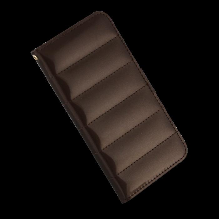 Lick Etui folio effet doudoune pour iPhone 6 Marron