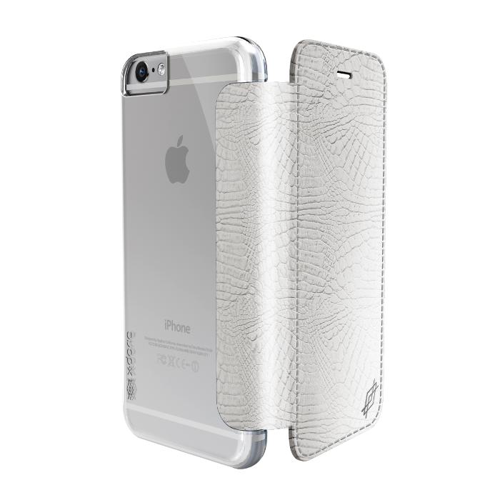 Xdoria Etui folio Lux Engage Iphone 6/6S python blanc