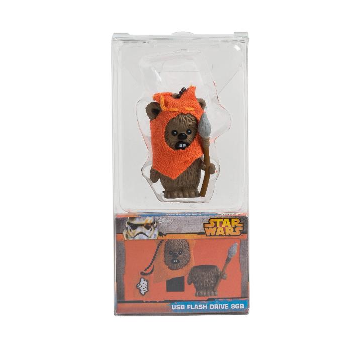 Tribe Clé USB 3D Starwars Ewok 16 Go