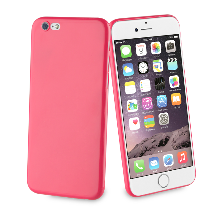 Muvit Life Coque Fever Ultrafine pour Iphone 6/6S Fuchsia