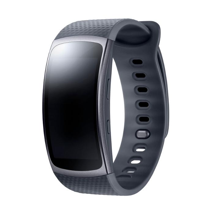 Samsung Montre connectée Gear Fit 2 Taille L Noir