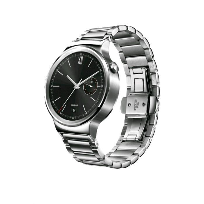 Huawei Montre connectée Huawei Watch Classic Silver Bracelet Metal Silver