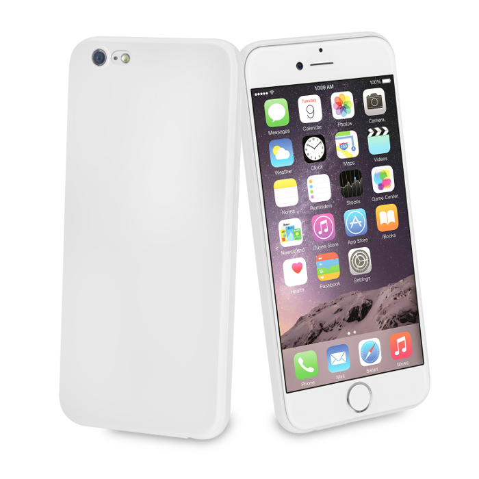 Muvit Life Coque Fever Ultrafine pour Iphone 6/6S Ivoire