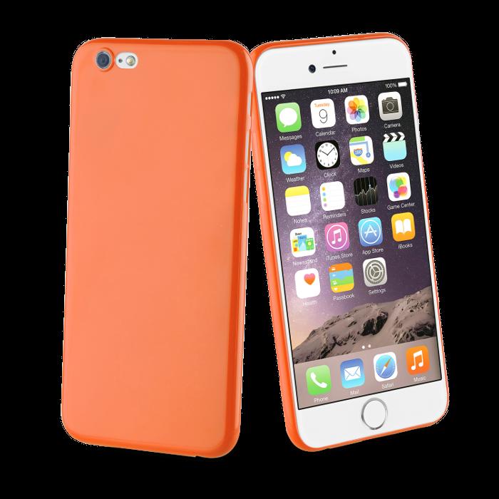 Muvit Life Coque Fever Ultrafine pour Iphone 6/6S Orange