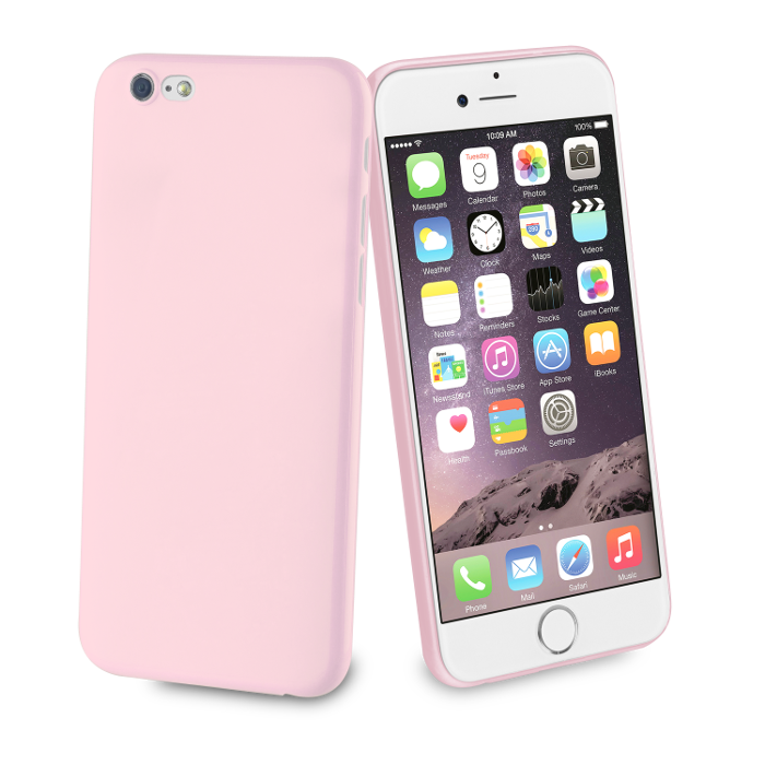 Muvit Life Coque Fever Ultrafine pour Iphone 6/6S Rose