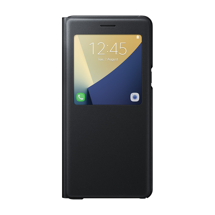 Samsung Etui S View Standing pour Galaxy Note7 Noir