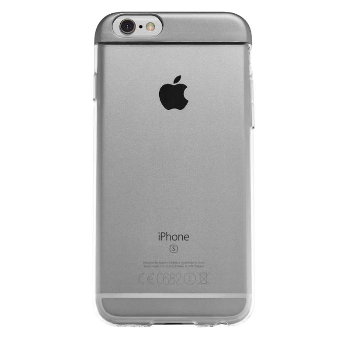 Qdos Coque Topper pour iPhone 6/6S Gris Sidéral