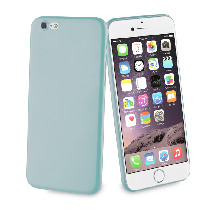Muvit Life Coque Fever Ultrafine pour Iphone 6/6S Turquoise