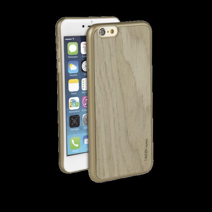 Uniq Coque Tavern en bois pour iPhone 6/6S Beige
