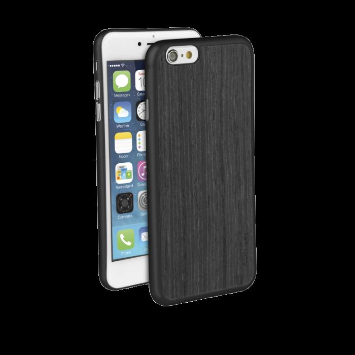 Uniq Coque Tavern en bois pour iPhone 6/6S Noir