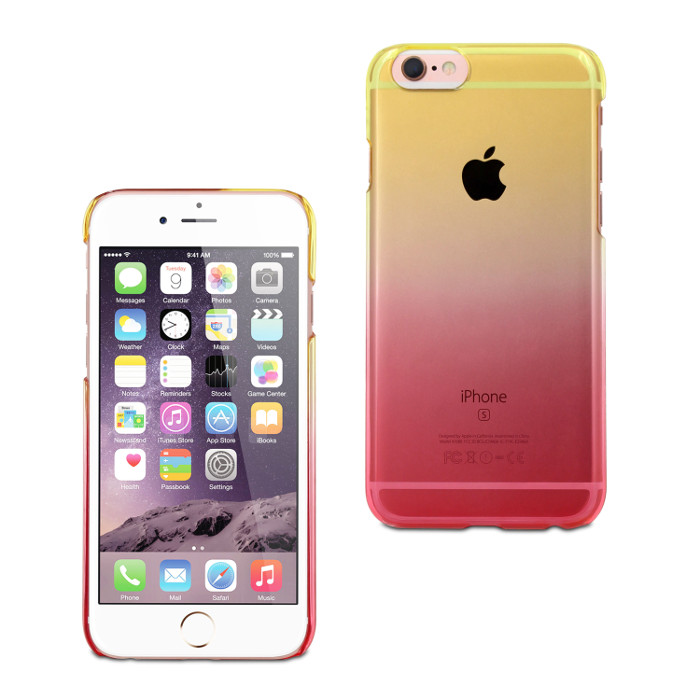 Muvit Life Coque Vegas pour Iphone 6/6S Jaune Rose