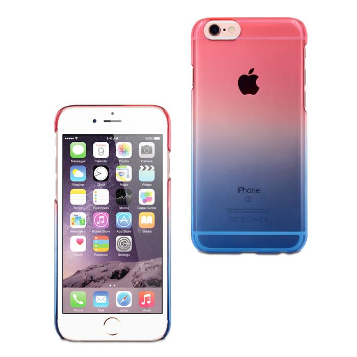 Muvit Life Coque Vegas pour Iphone 6/6S Rose Bleu
