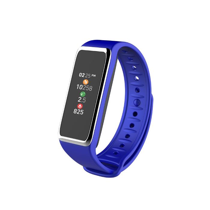 My kronoz Tracker d'activité Zefit 3 HR Bleu