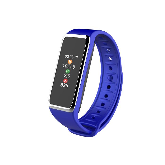 My kronoz Tracker d'activité Zefit 3 Bleu