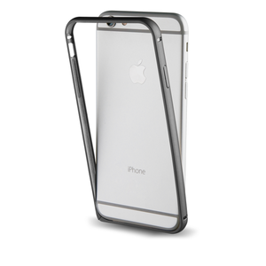 Bumper avec protection arrière pour Iphone 7 Plus Noir