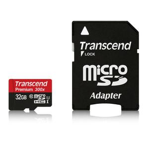 Carte mémoire microSDHC 32Go avec adaptateur SD
