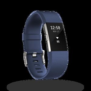 Charge 2 bracelet pour l'activité et le sport Bleu Taille S