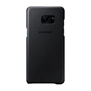 Coque en cuir pour Galaxy Note7 Noir