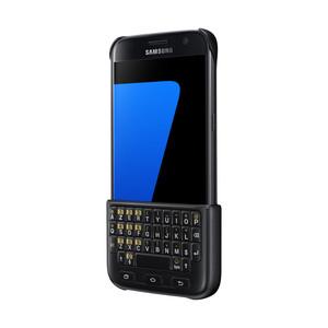 Coque avec clavier intégré pour Galaxy S7 Noir