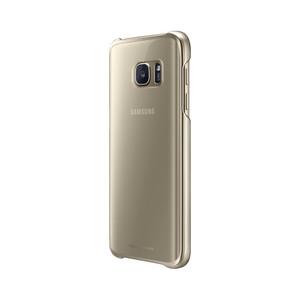 Coque transparente pour Galaxy S7 Or